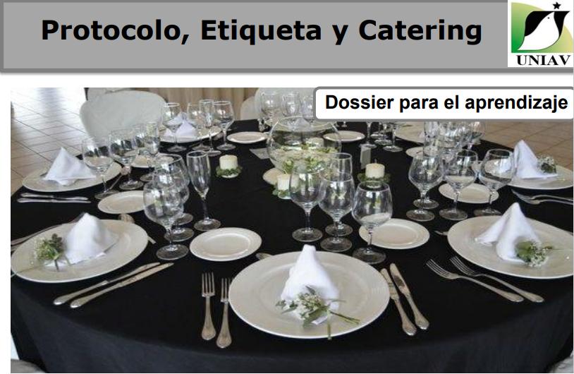 PROTOCOLO ETIQUETA  Y CATERING